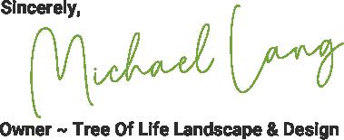 Michael Lang Signature